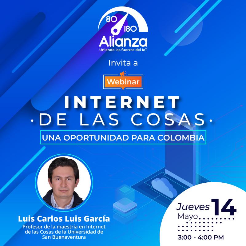 Webinar «IoT, una oportunidad para Colombia»