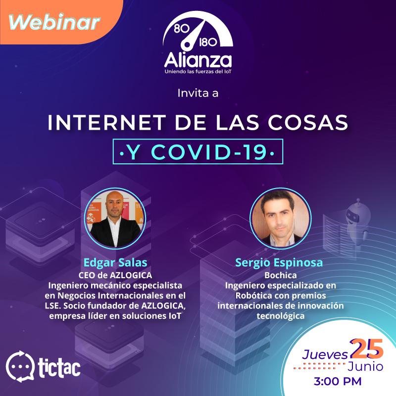 Webinar «Internet de las Cosas y COVID-19»
